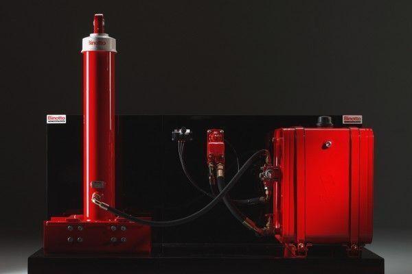 самосвальная система  Binotto для Binotto