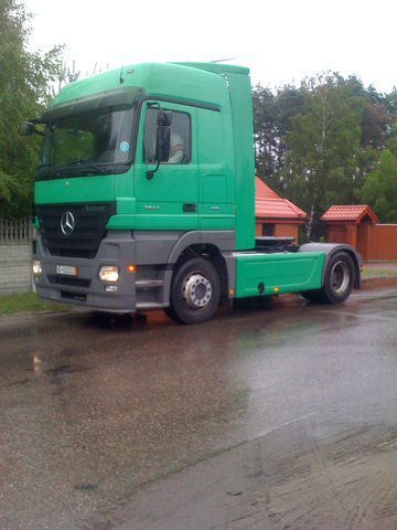 новый спойлер  Multi-Plast Mercedes Actros Mega Space для тягача MERCEDES-BENZ Mega Space