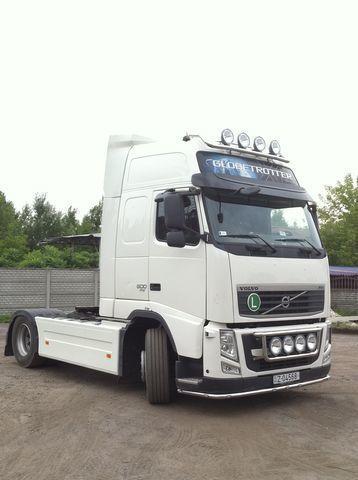 новый спойлер  MULTI-PLAST międzyosiowy Volvo FH для тягача VOLVO FH
