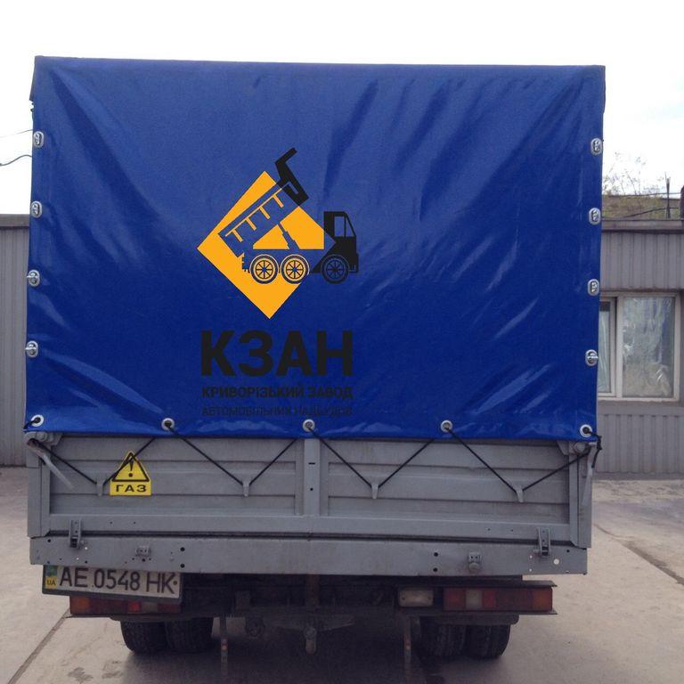 новый тент ПВХ КЗАН для грузовика