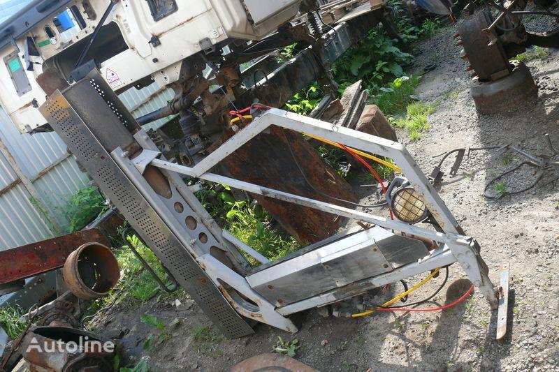 труба выхлопная  Система газовывода для тягача DAF XF,CF